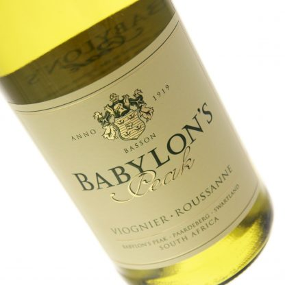 Babylon's Peak - Viognier Roussanne 2017 6x 75cl Bottles