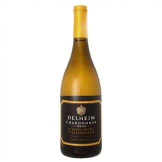Delheim Stellenbosch Chardonnay Sur Lie Estate Range 2015