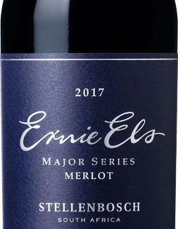 Ernie Els Wines - Major Series Merlot 2017 75cl Bottle