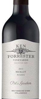 Ken Forrester - Merlot Reserve 2013 6x 75cl Bottles