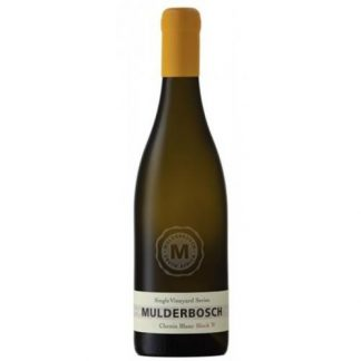 Mulderbosch Vineyard Single Vineyard Block W Stellenbosch Chenin Block 2017