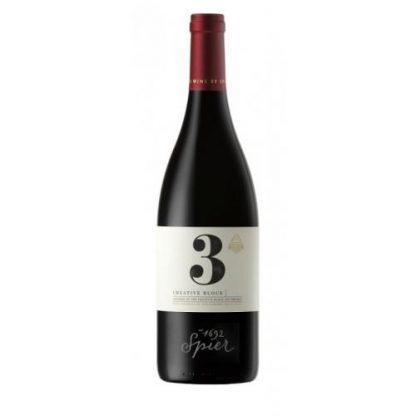 Spier Wine Farm Creative Block 3 Shiraz Mourvedre Viognier 2015