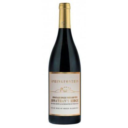 Springfontein Jonathon's Ridge Single Vineyard Pinotage 2015