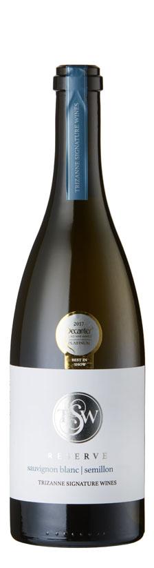 Trizanne Signature Wines - Reserve Sauvignon Blanc Semillon Elim 2016 6x 75cl Bottles