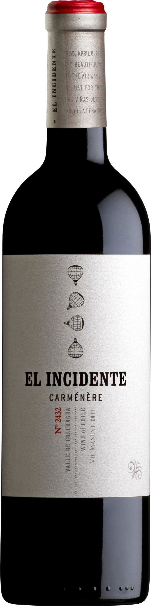 Viu Manent - El Incidente 2011 6x 75cl Bottles